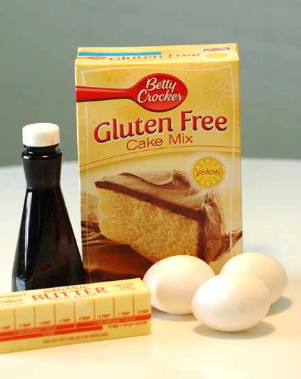 gluten-free cake mix by Betty Crocker